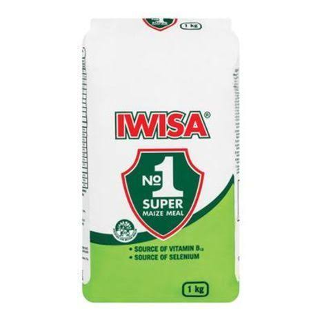 Iwisa Maize Meal - 1kg