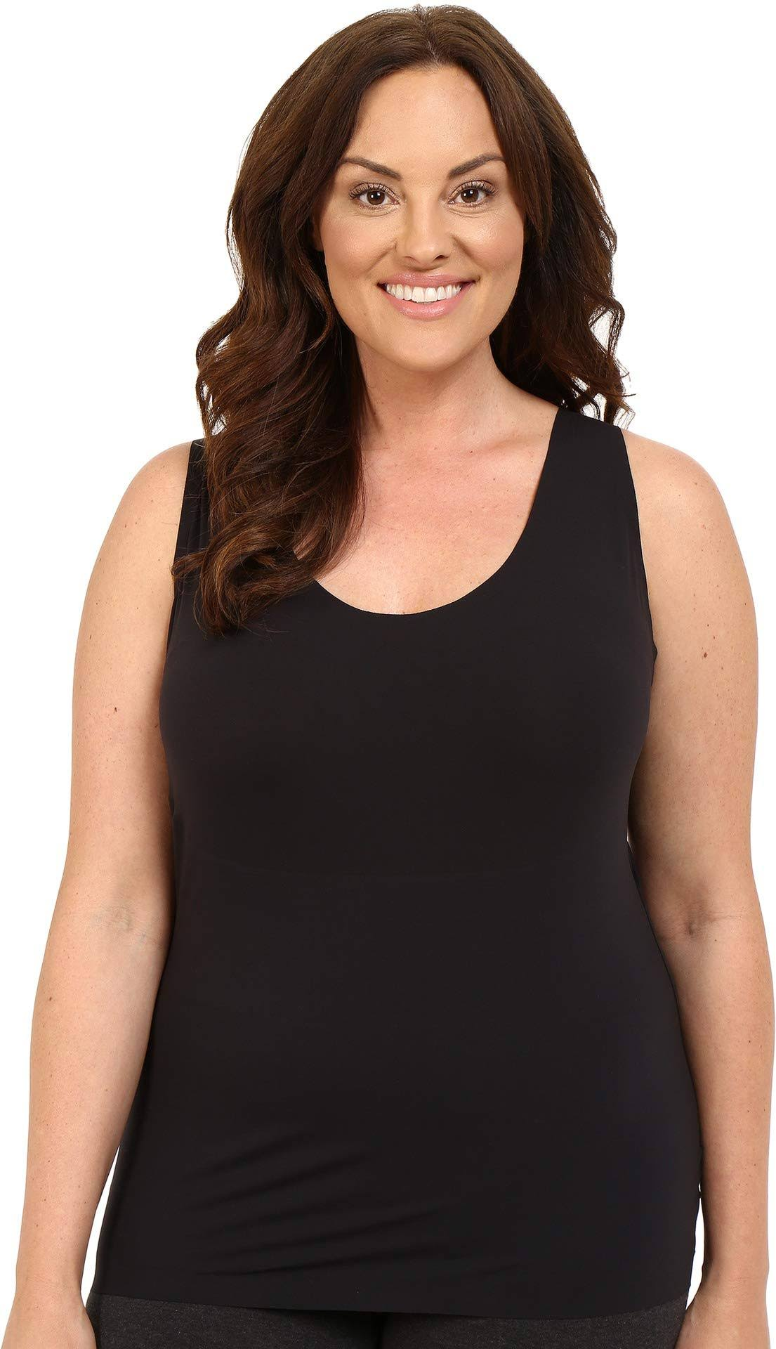 Spanx Women Plus Size Thinstincts Tank - Very Black - 1X