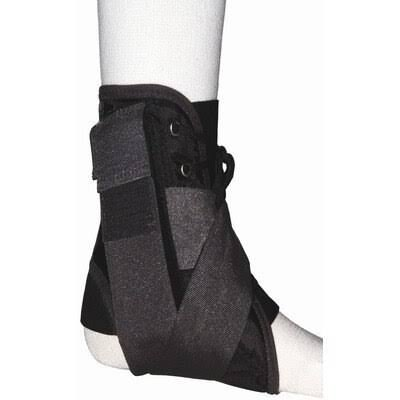 Bell-horn Stabilizing Ankle Brace - Black, Large