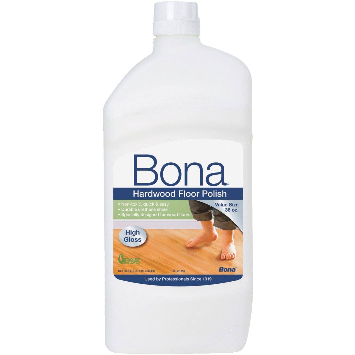 Bona High Gloss Hardwood Floor Polish - 36oz