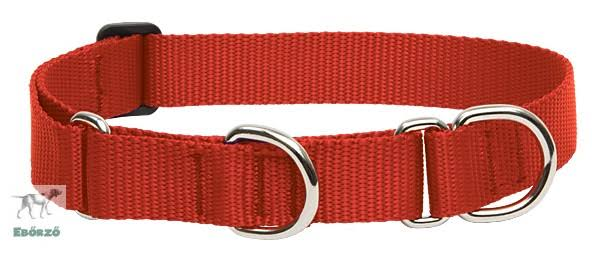 "Lupine Pet Basics Martingale Collar for Large Dogs - Red 19"" to 27"" x 1"""