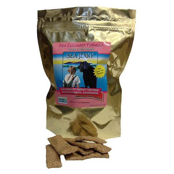 Coastside Bio - NutriSea 30650639 15 oz Sea Jerky Salmon for Dog