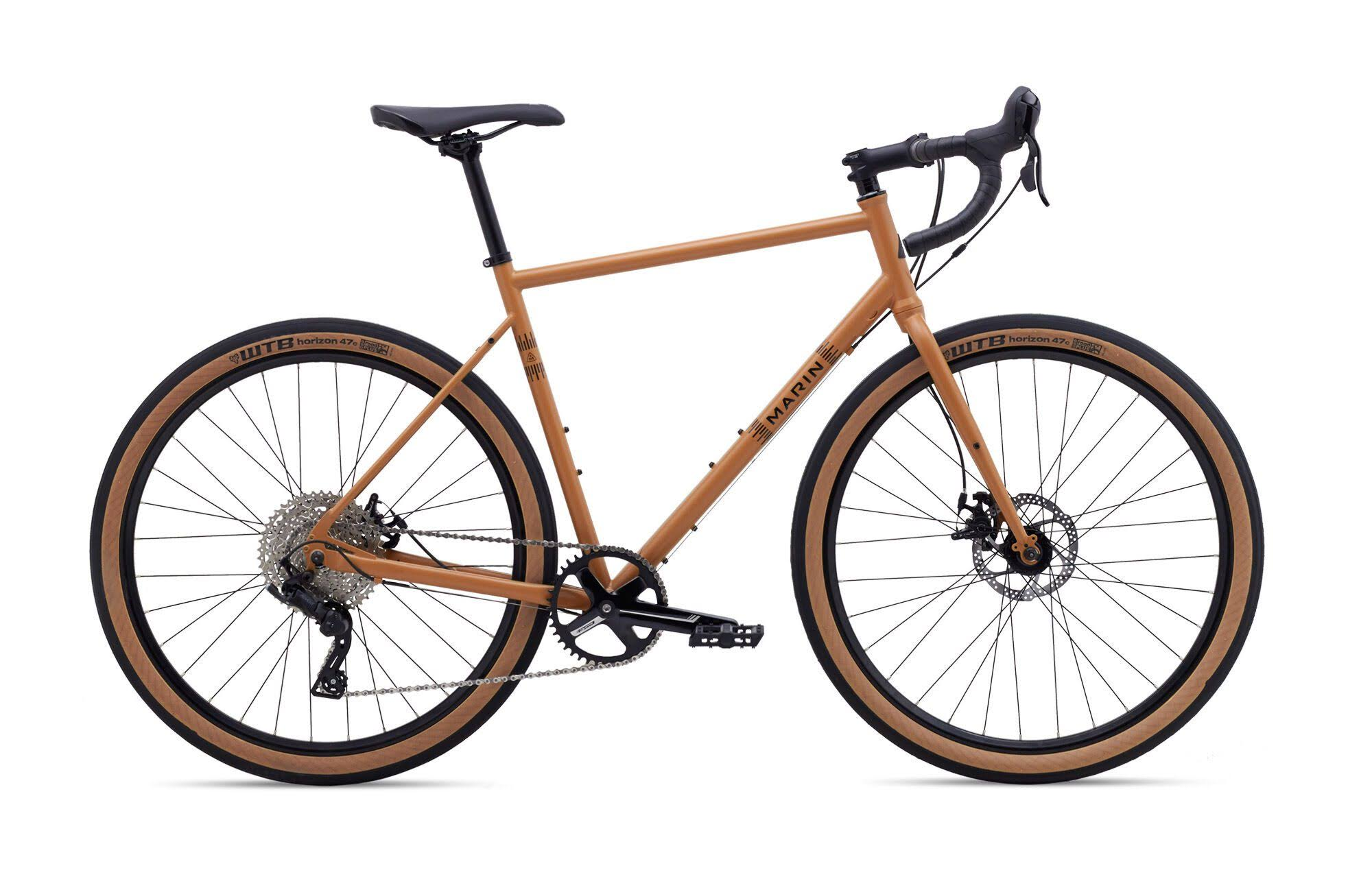 Marin Nicasio + Gravel Bike 2020 Satin Tan / 58