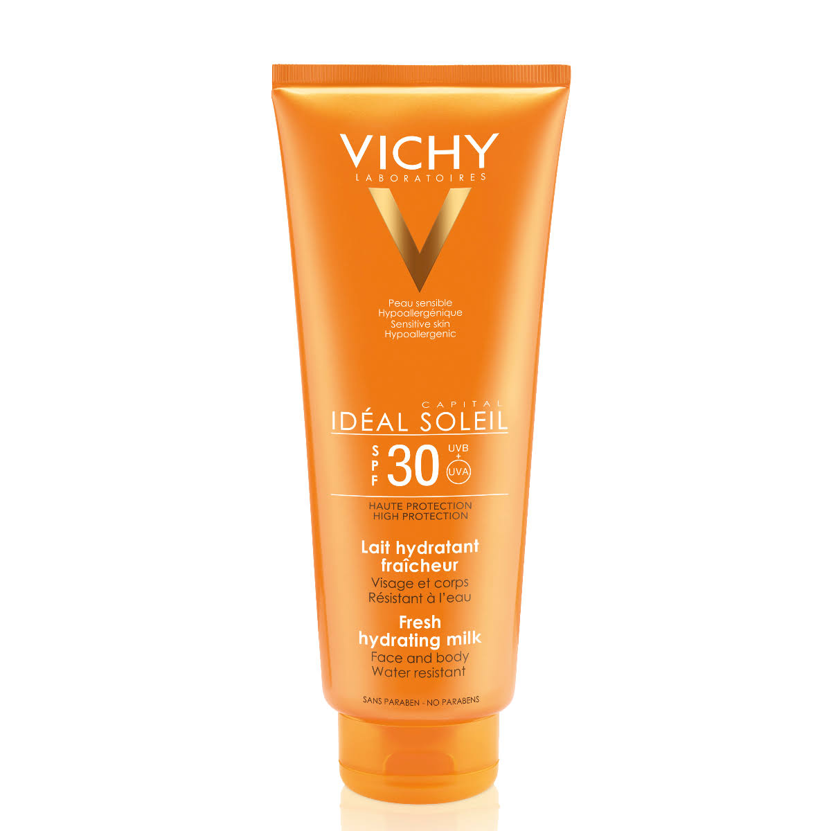 Vichy Capital Soleil Beach Protect Fresh Hydrating SPF 30 Face and Body Milk - 300ml