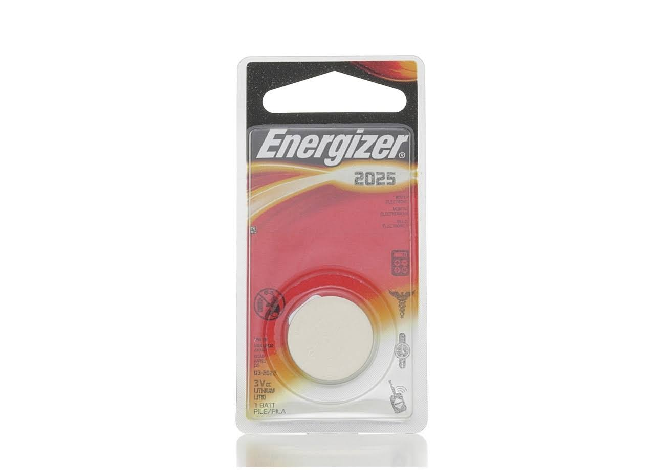 Energizer 2025 Lithium Button Cell Batteries - 3V