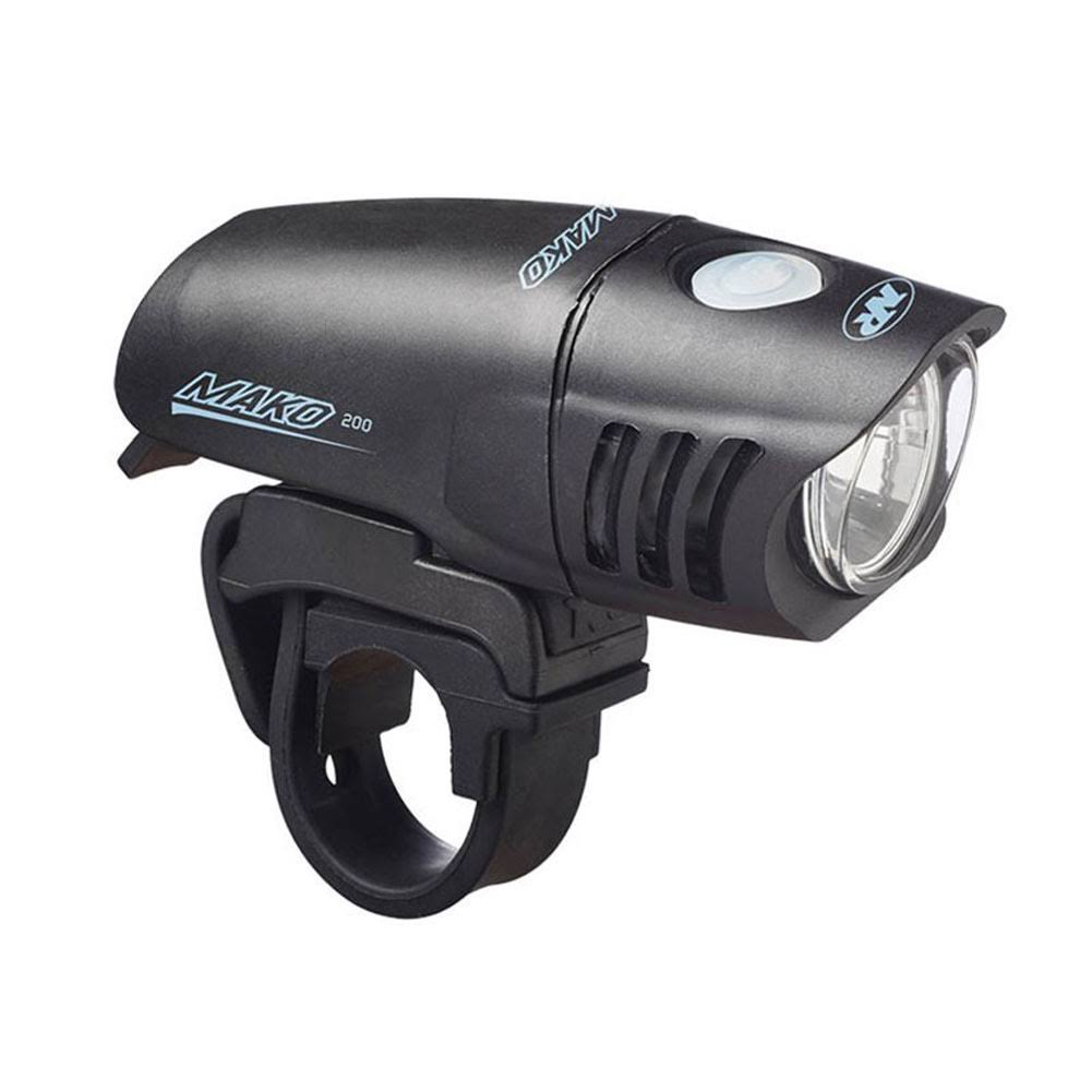 NiteRider Mako 200 Bicycle Headlight - Black, 200 Lumens
