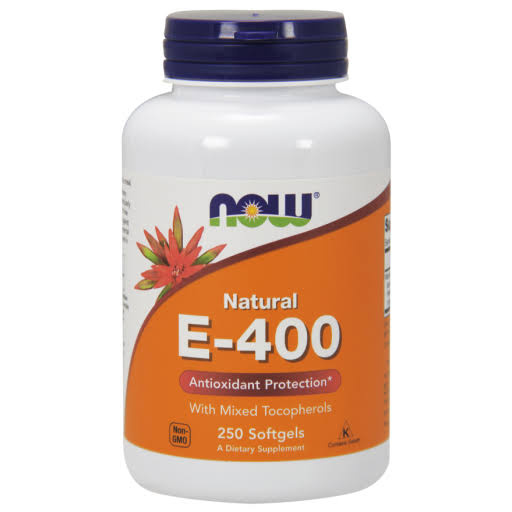 Now Foods E-400 - 250 Softgels