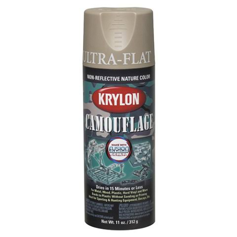 Krylon Camouflage Spray Paint - Khaki, 11oz
