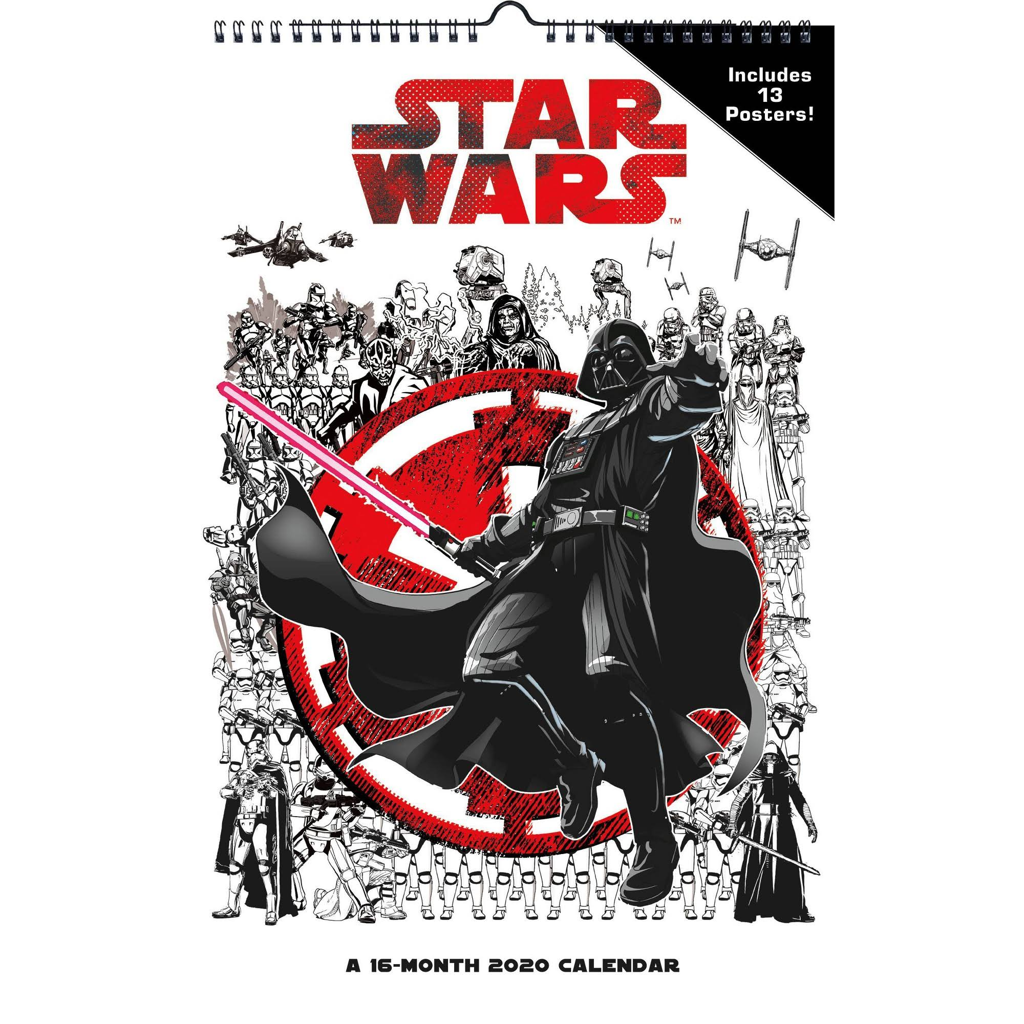 Trends International Star Wars 2020 Wall Calendar