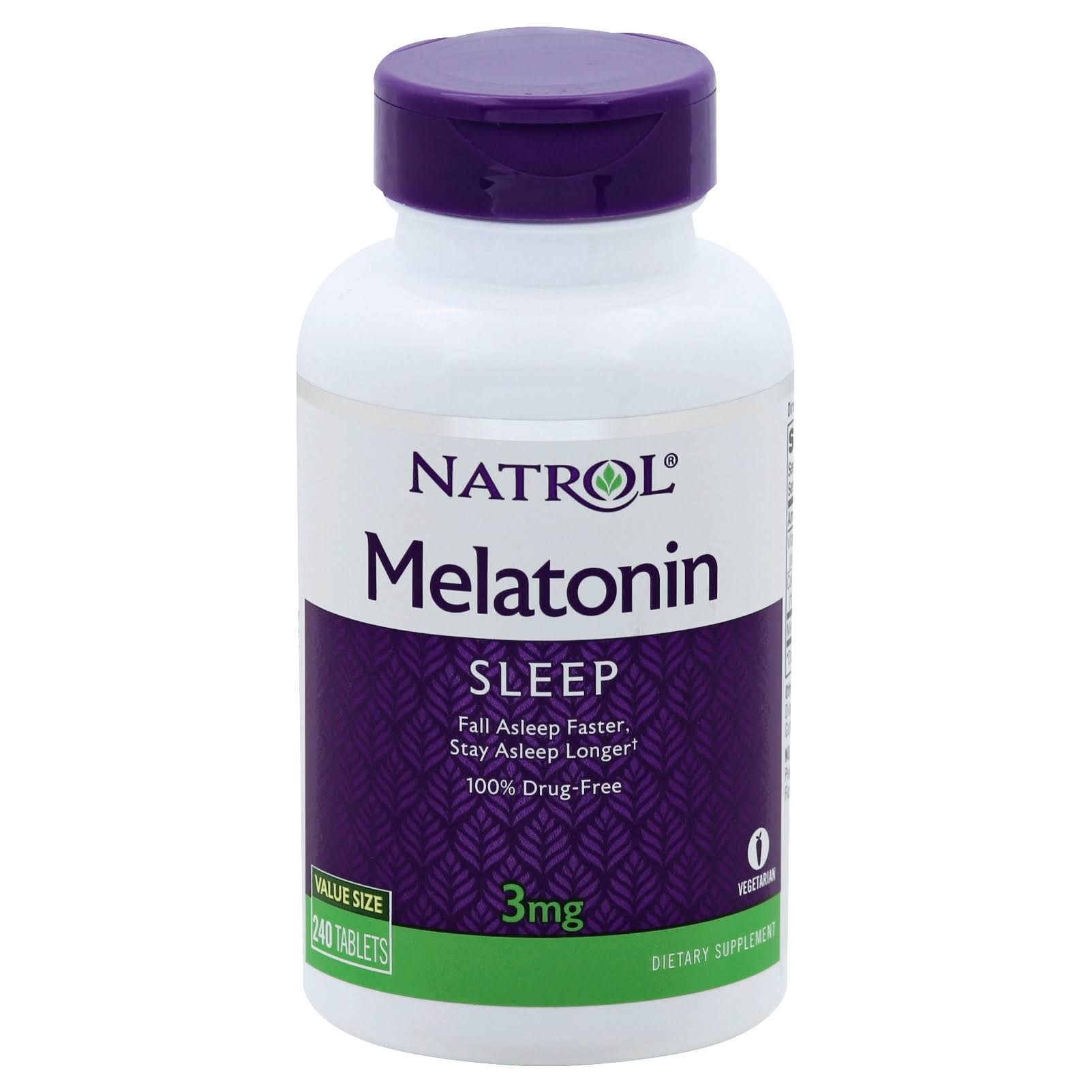 Natrol Melatonin Dietary Supplement - 3mg, 240ct