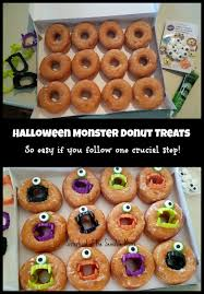 Halloween Candy Dish That Talks by Halloween Monster Donuts Diy Sisterhood Of The Sensible Moms