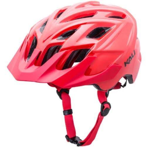 Kali Chakra Solo Helmet-Solid Red