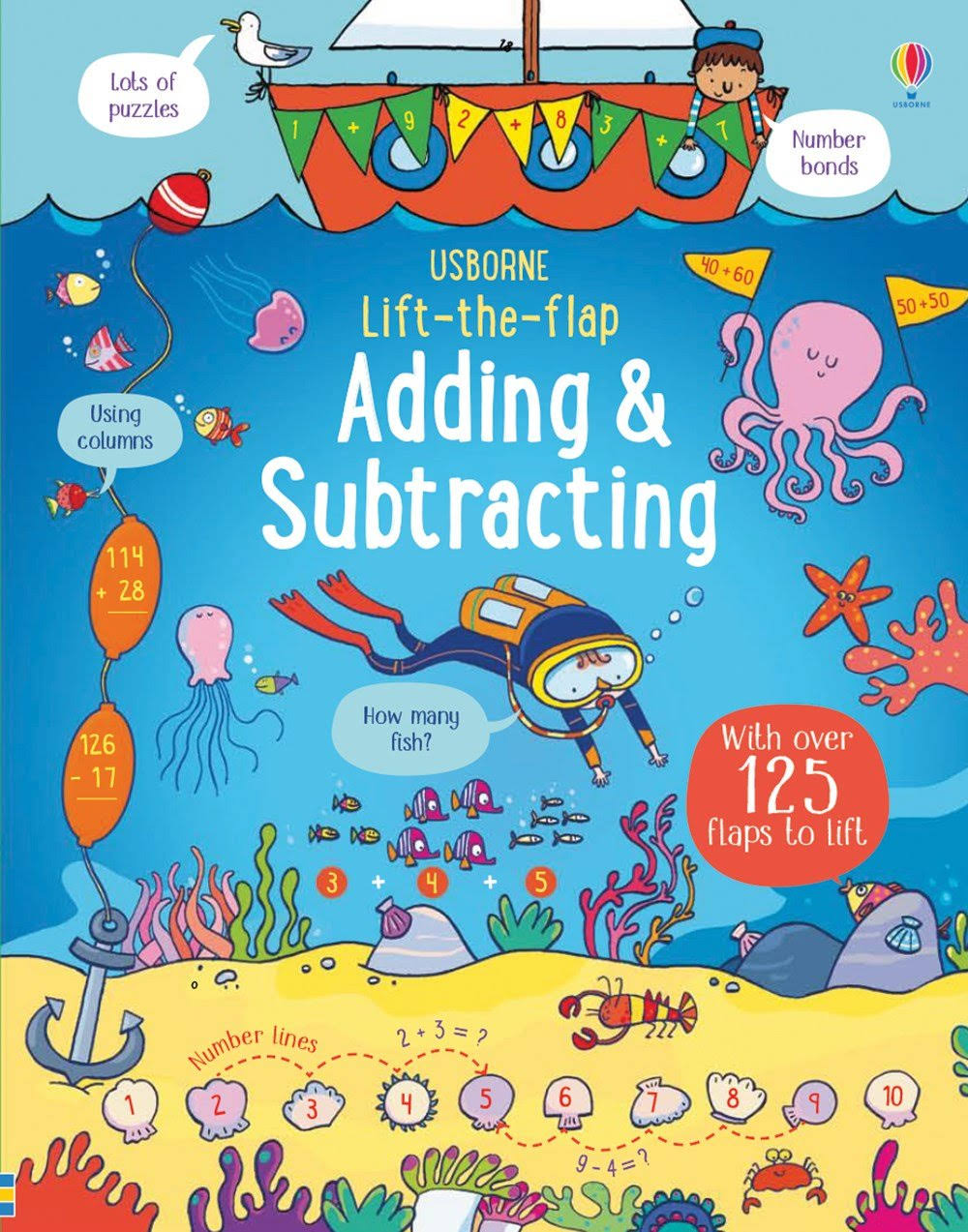 Lift-The-Flap Adding and Subtracting [Book]