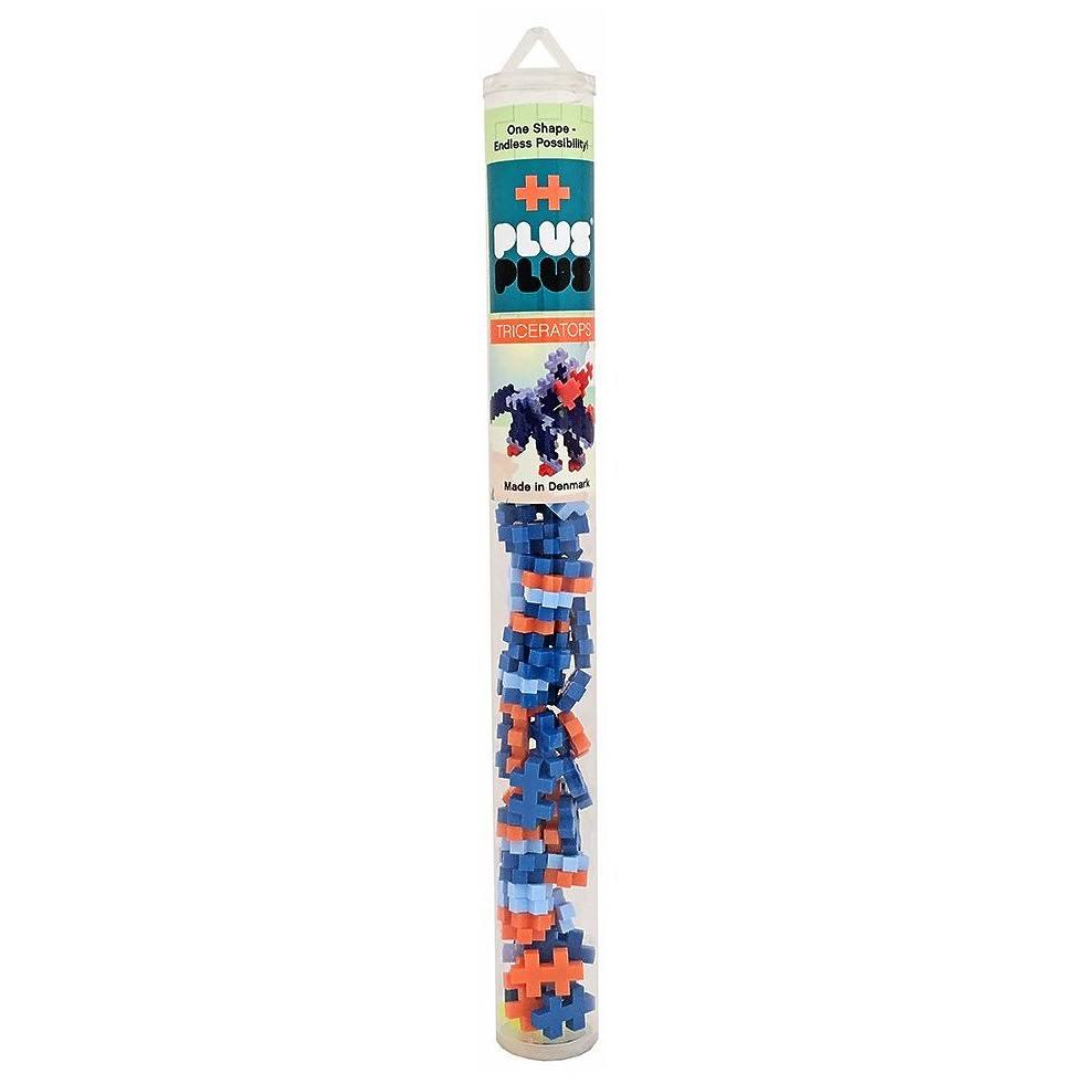 Plus-Plus Mini Maker Tube - Triceratops