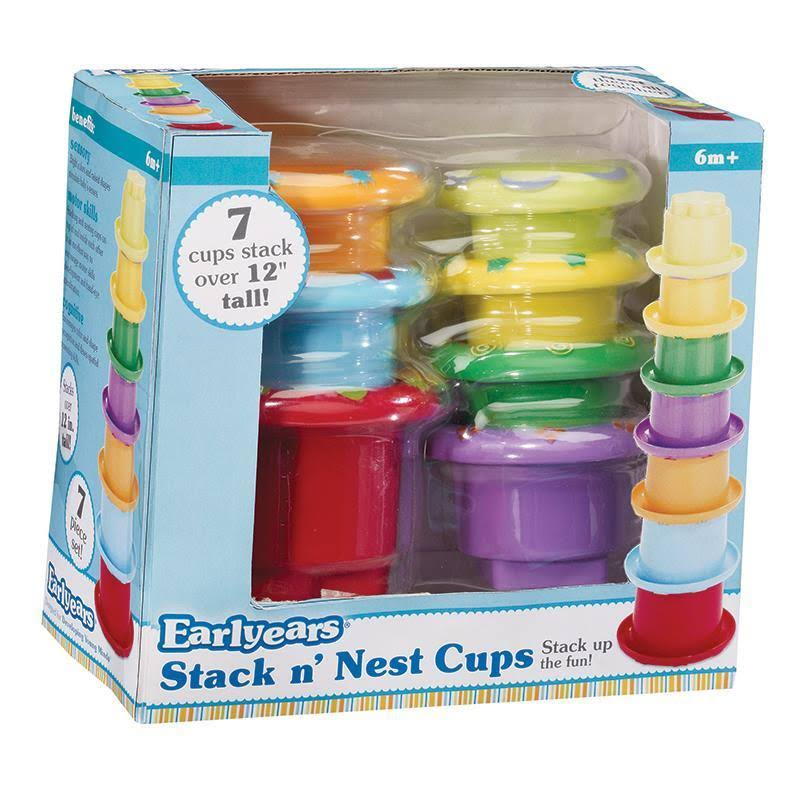 Earlyears Stack n Nest Baby Cups