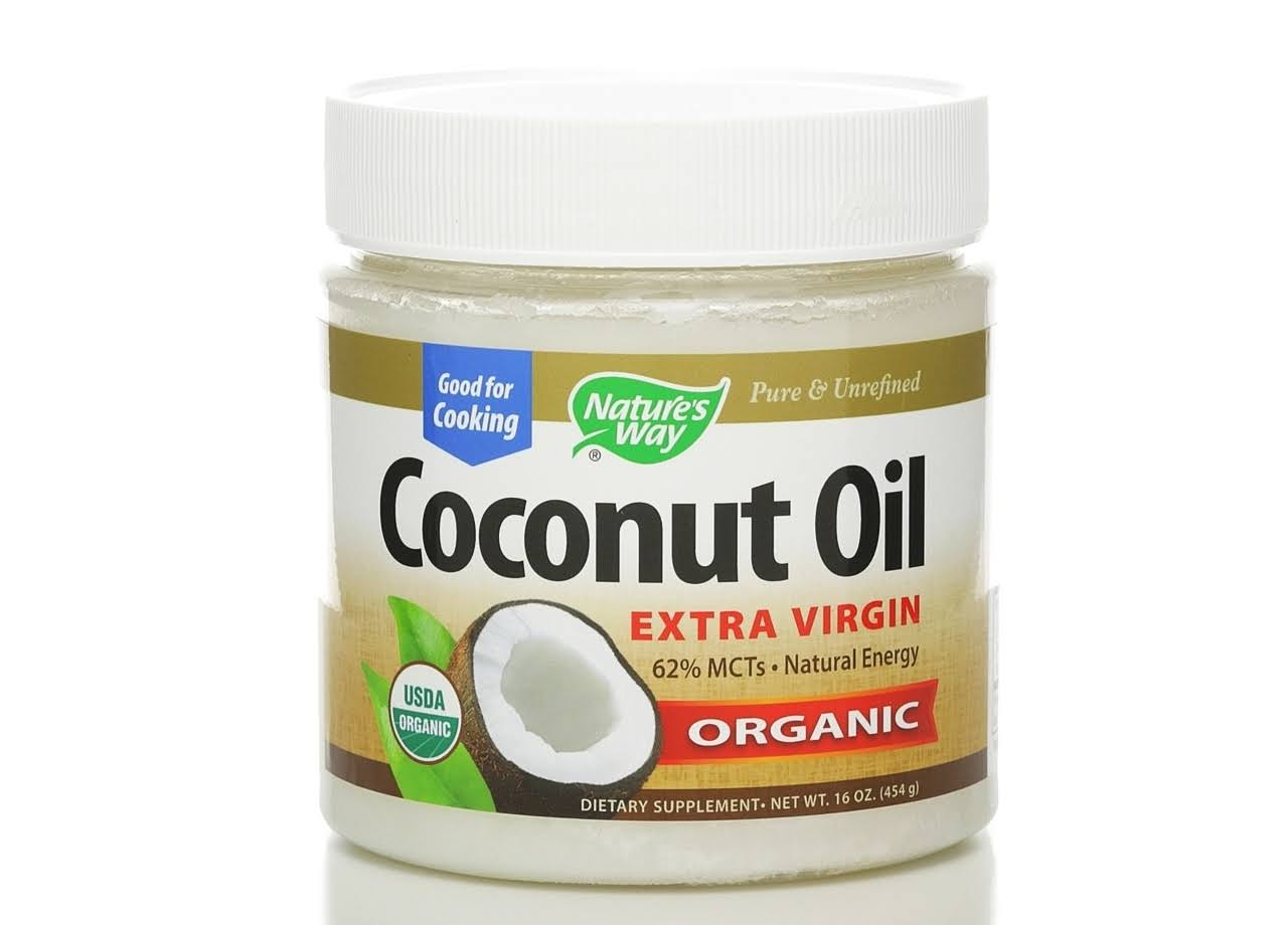 Nature's Way Extra Virgin Organic Coconut Oil - 16oz