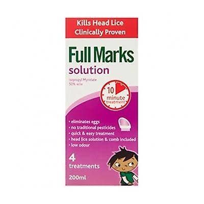 Full Marks Head Lice Solution - 200ml