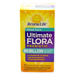 Renew Life Ultimate Flora Colon Care Probiotic