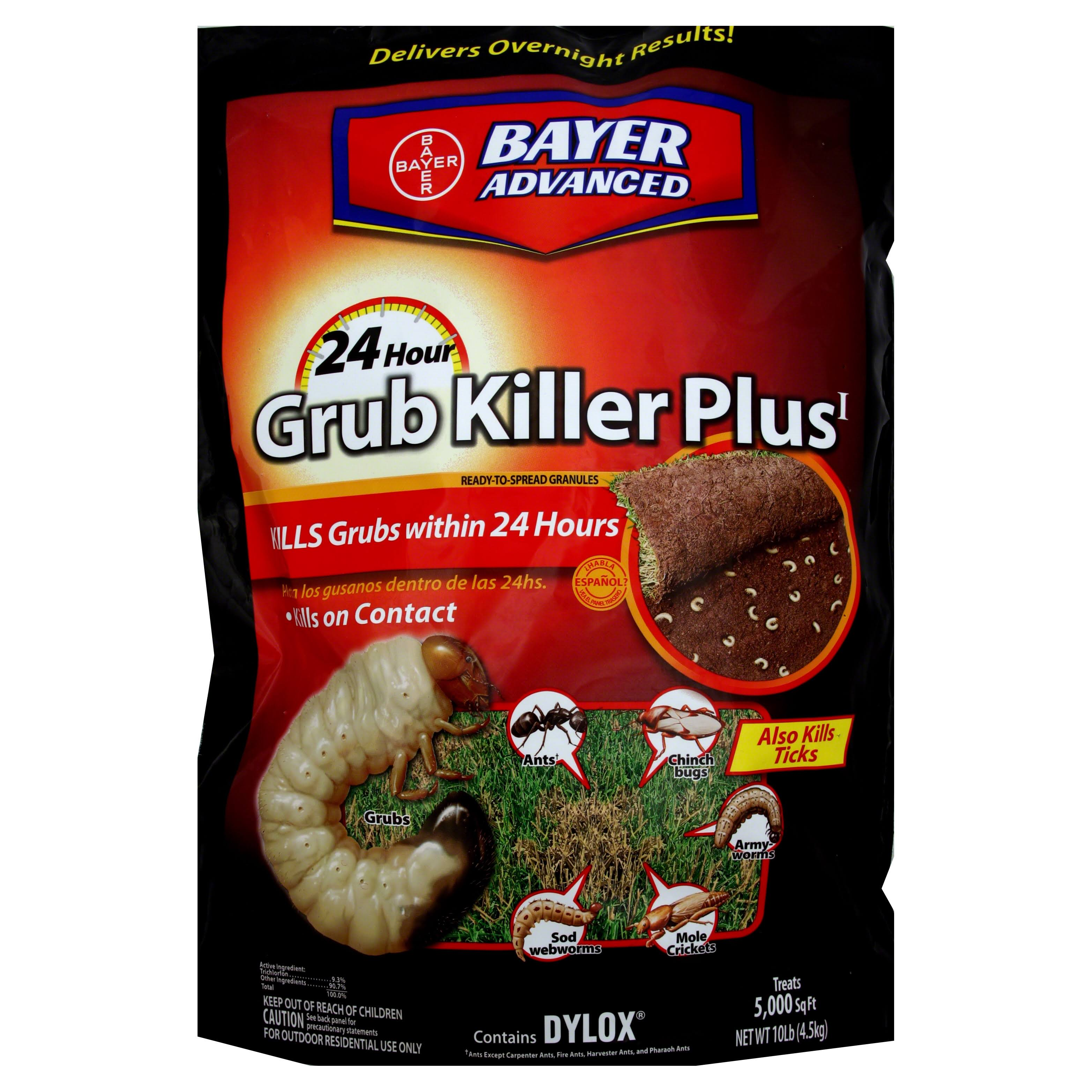 Bayer Advanced 24-Hour Grub Killer Plus Granules - 10lb