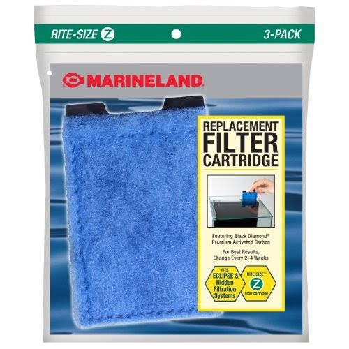 Marineland Eclipse Filtration Systems Filter Cartridge - Rite-Size Z, 3 Pack