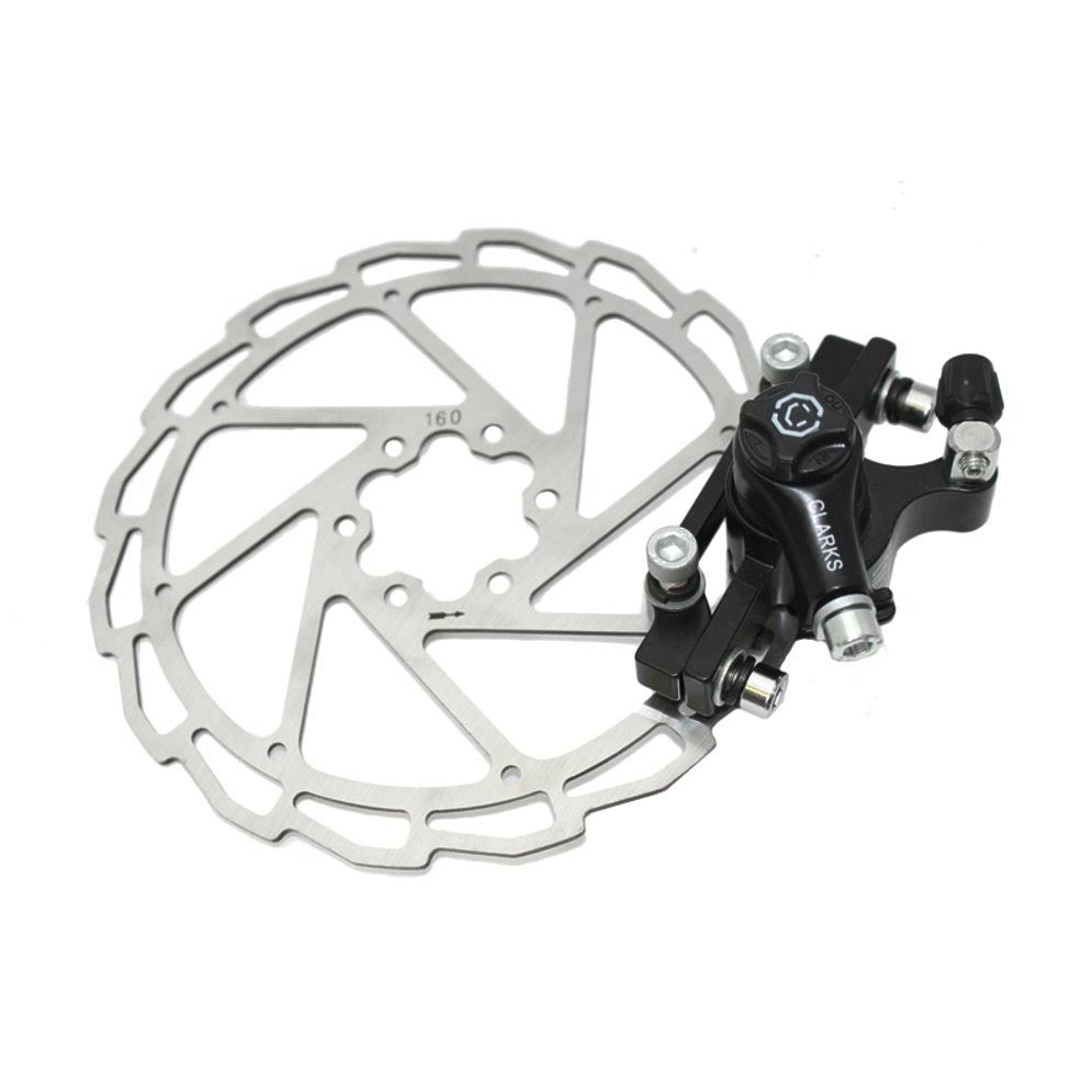 Clark's Mechanical Disc Brake - Black, 160mm