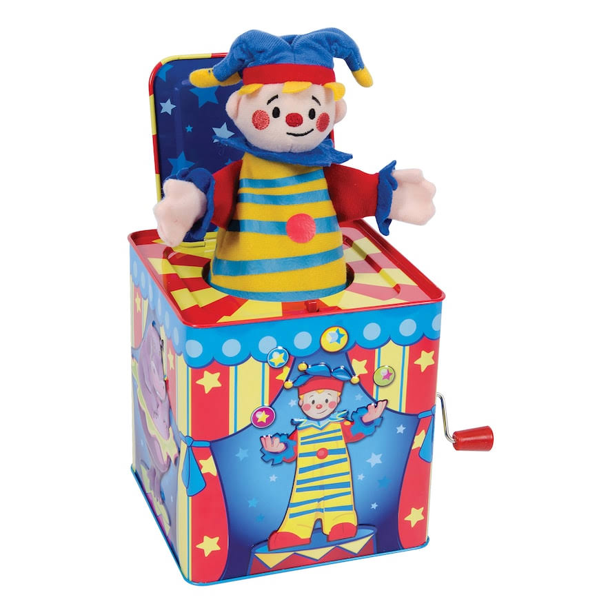 Schylling Silly Circus Jack in the Box Toy