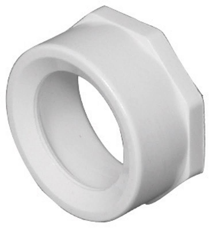 Charlotte Pipe Flush Bushing PVC DWV