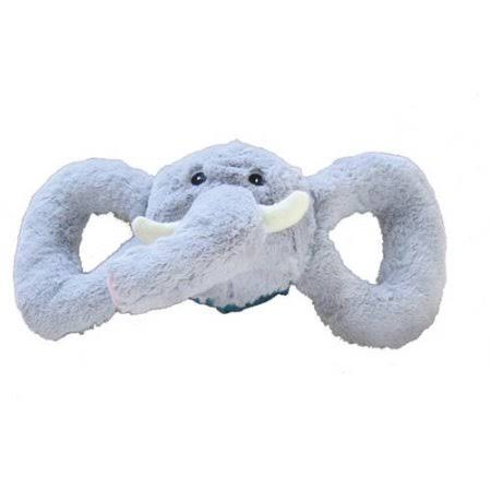Jolly Pets Tug a Mals Elephant Dog Toy - Grey, X-Large