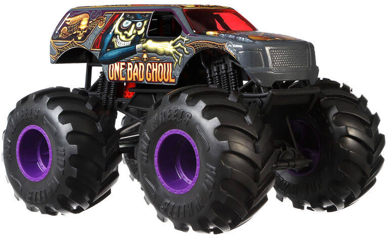 Hot Wheels Monster Jam Die Cast Vehicle - 1:24 Scale