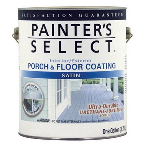 True Value Mfg USF3-GL Exterior Satin Porch & Floor Coating Urethane