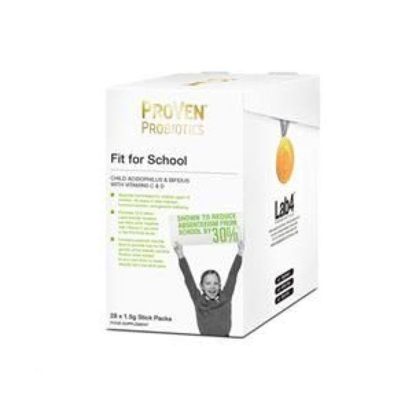 Proven Fit For School Sachets - 28 Sachets
