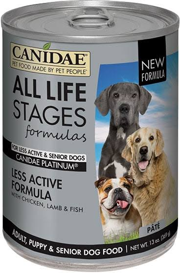 Canidae Life Stages Platinum Dog Food - Senior and Overweight, Adult, 13oz