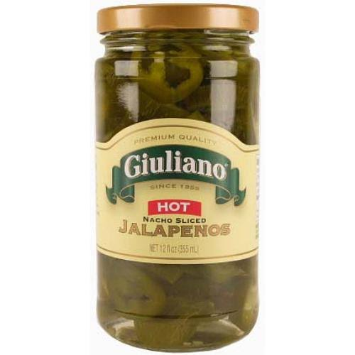 Guiliano Wholesale GIULIANOS Sliced Jalapenos 12 oz