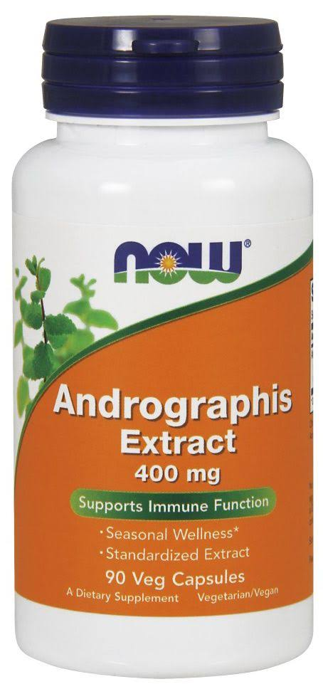 Now Foods Andrographis Extract 400mg Capsules - x90