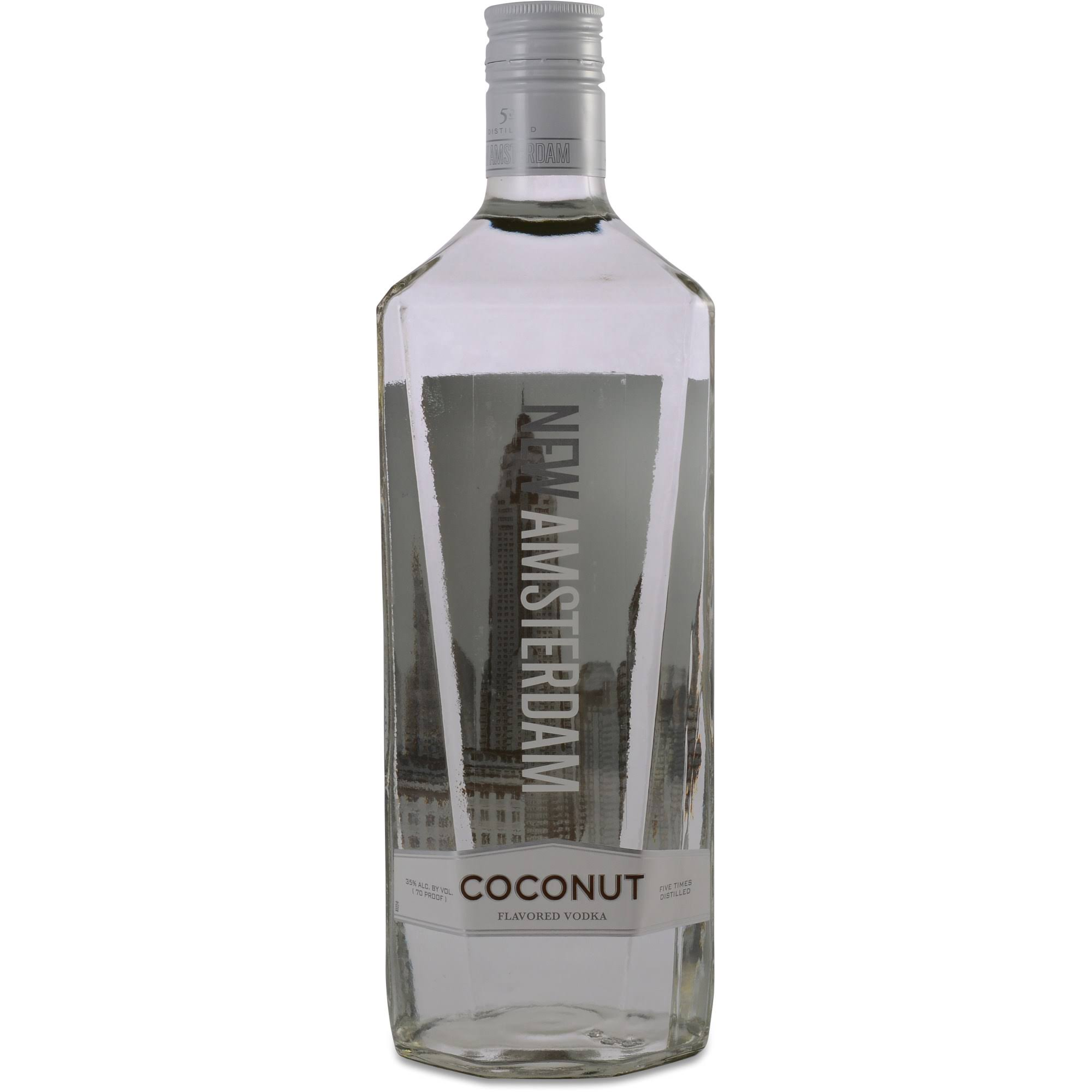 New Amsterdam Coconut Vodka - 1.75 L bottle