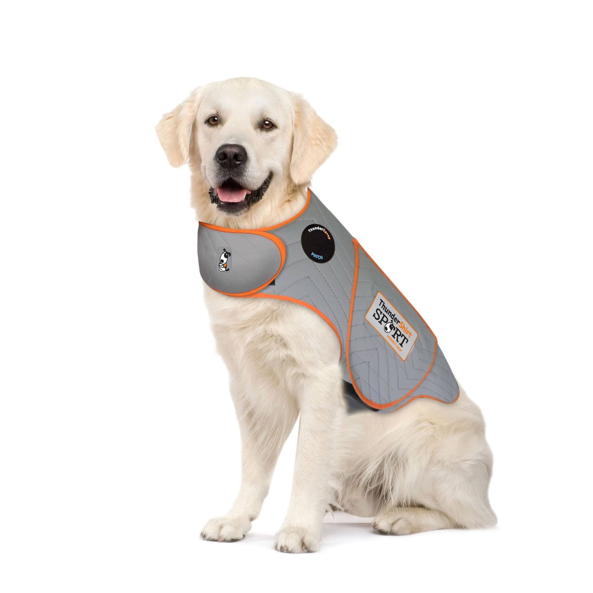 Thundershirt Sport Platinum Anxiety Solution for Dogs - XL