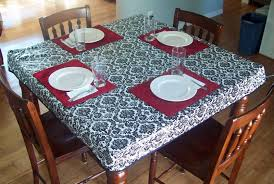 Fitted Outdoor Tablecloth With Umbrella Hole by Kitchen Vinyl Tableclothes Picnic Table Cloths Vinyl Tablecloths