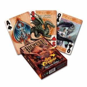 Bicycle Poker Playing Cards - Age of Dragons
