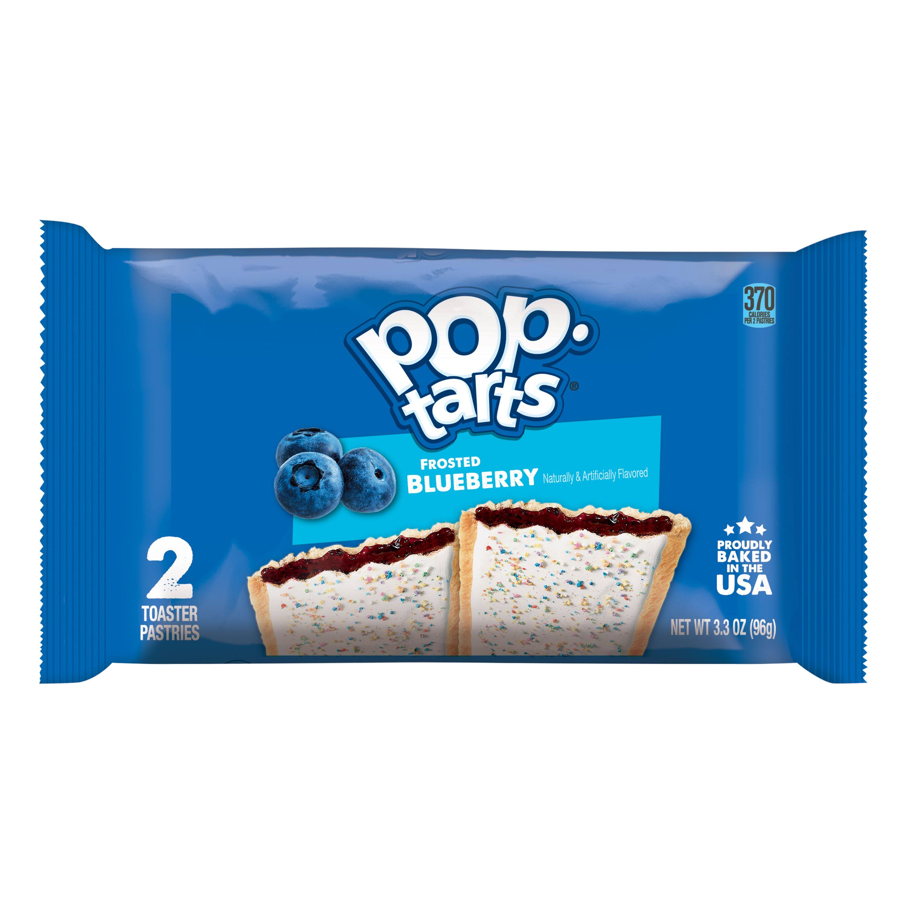 Kellogg's Pop Tarts - Frosted Blueberry, 104g