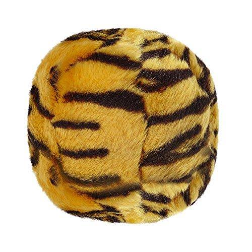 Fluff & Tuff Tigerball Plush Dog Toy