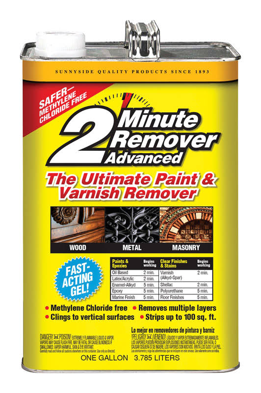 Sunnyside 2 Minute Remover Advanced Paint and Varnish Remover - 1gal