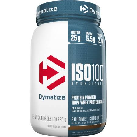 Dymatize ISO100 Hydrolyzed Protein Powder, Peanut Butter - 25.6 oz