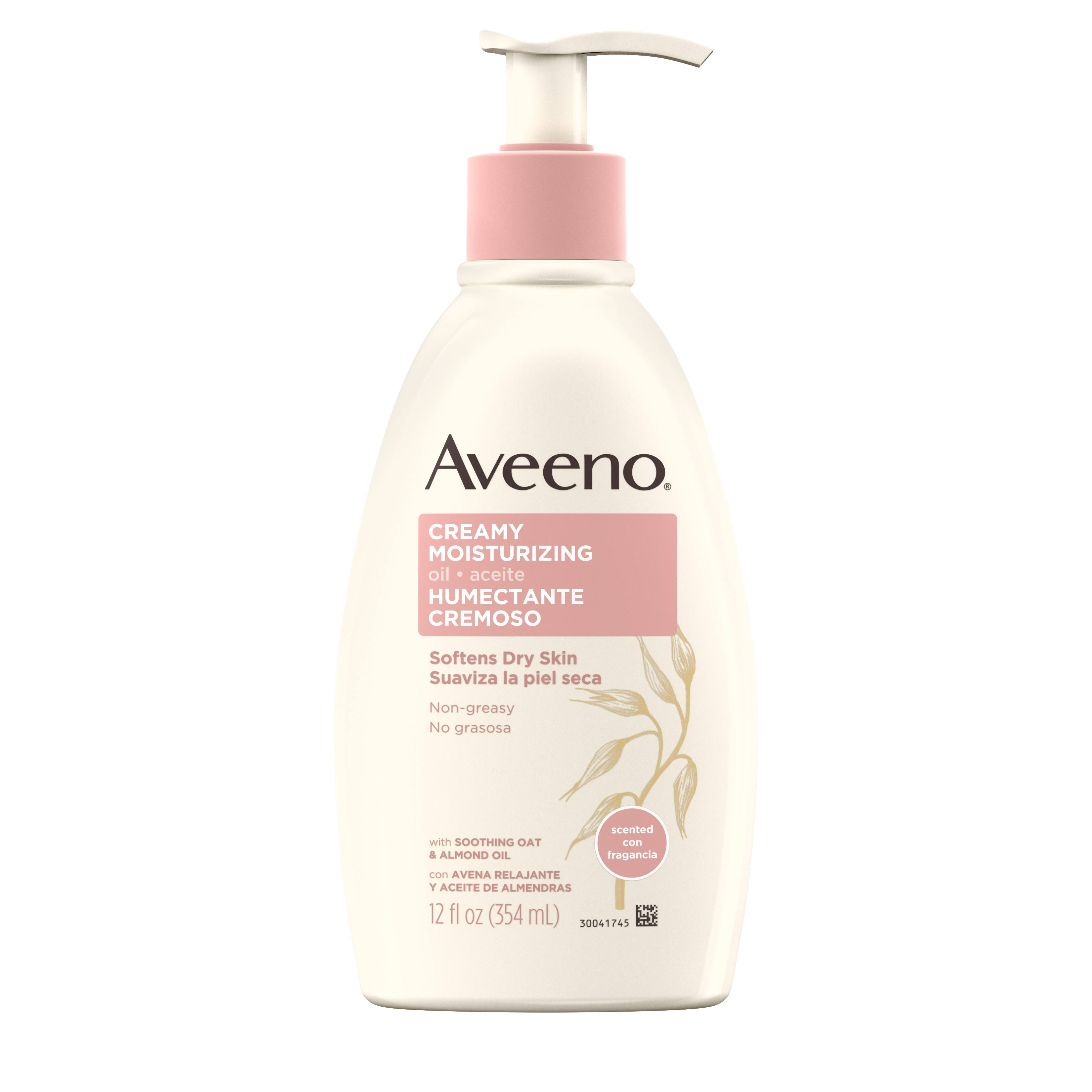 Aveeno Active Naturals Creamy Moisturizing Oil - 12oz