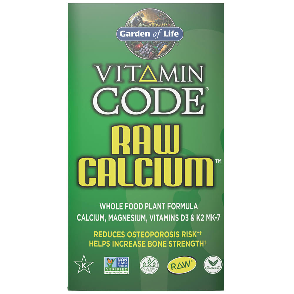 Garden of Life Vitamin Code Raw Calcium - 120 Capsules