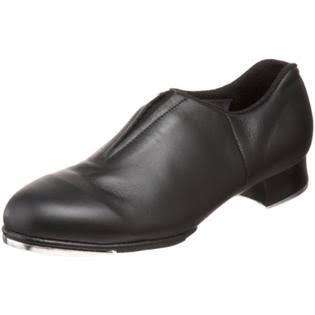 Bloch Dance Women's Tap Flex Slip On Tap Shoes - Black, 5.5 US