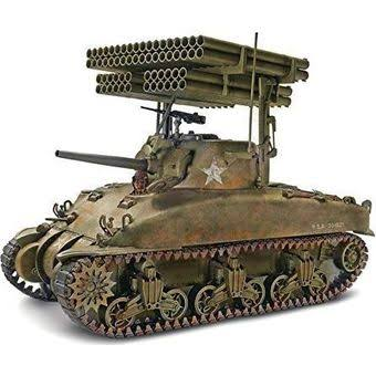 Monogram Sherman M4a1 Screamin Mimi Screaming 1:32 Scale WWII Tank Model Kit