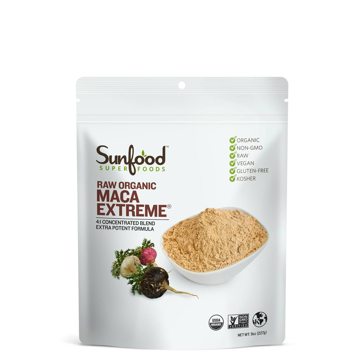 Sunfood Superfoods Maca Extreme - 227g