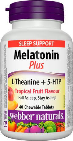 Webber Naturals Super Sleep Melatonin Plus L