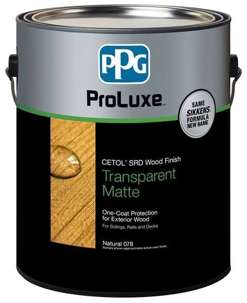 Sikkens Sik240-045/01 Proluxe Exterior Wood Finish, Mahogany, Gallon