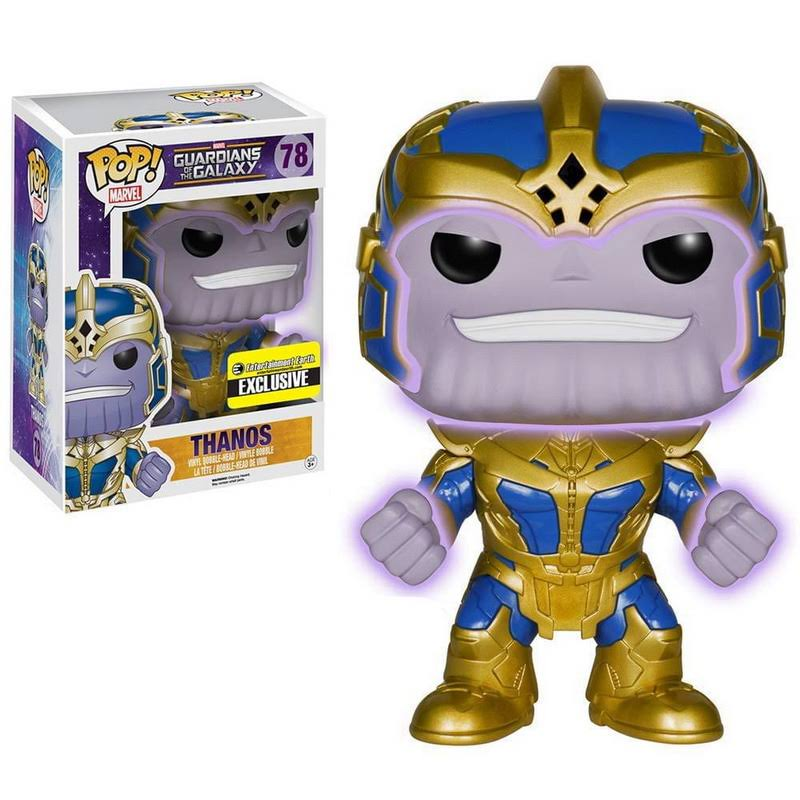 Guardians of The Galaxy Thanos Glow-in-the-Dark 6-Inch Pop! Vinyl
